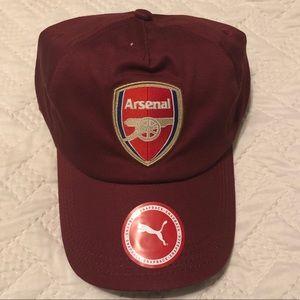 a410076dc467 ... BRAND NEW Puma Arsenal Soccer Hat Cap Lid Billionaire Boys Club Hoodie  BBC XL Nike Jordan New Black ...